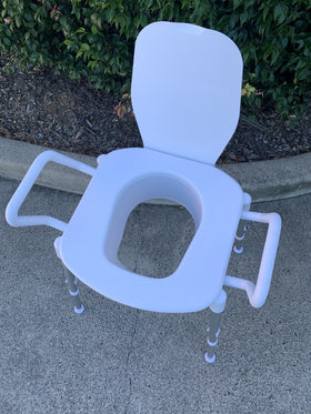Space Saver Toilet Seat Raiser