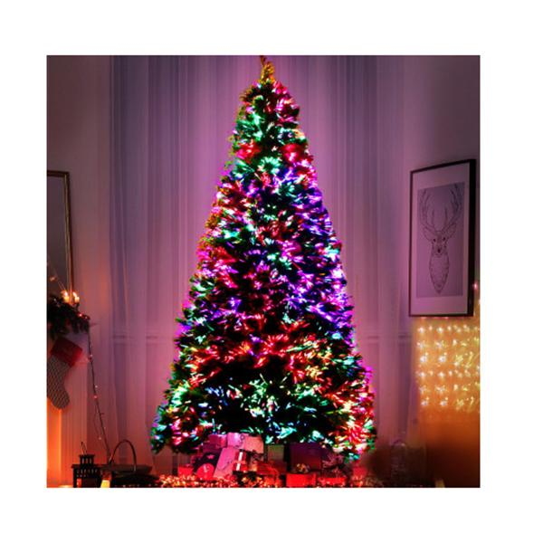 6 Ft Led Christmas Tree Optic Fiber Xmas Multi Colour Lights