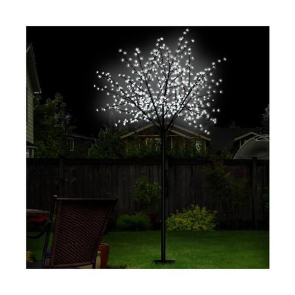 Christmas Blossom Tree 600 Led Optic Fiber Cold White