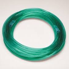 Oxygen tubing green 10 Meter 2035G, Single