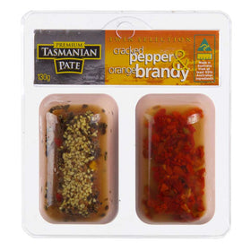 Cracked Pepper & Orange Brandy Pate - Twin Pack