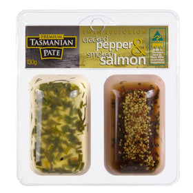 Cracked Pepper & Smoked Salmon Pate - Twin Pack