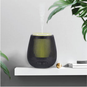 USB Essential Oil Aroma Diffuser Black Portable Colour Ultrasonic Air Humidifier