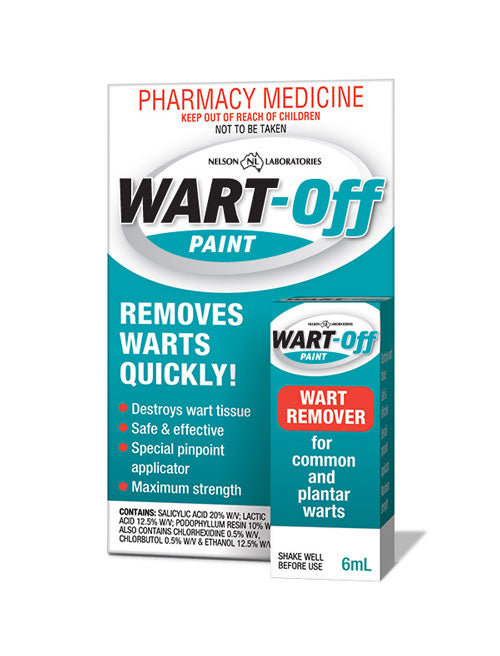Wart Off Paint