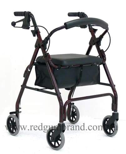 Alum Walker Hand Brake Red RG4205A(Mini Mack)