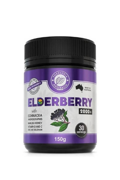 Elderberry 2000+ with vit D and Echinacea