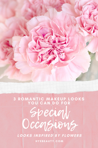 3 Romantic Makeup Looks You Can Do for Special Occasions—Looks Inspired by Flowers
