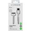 Vivanco · 30-Pin Kabel (Sync & Charging)