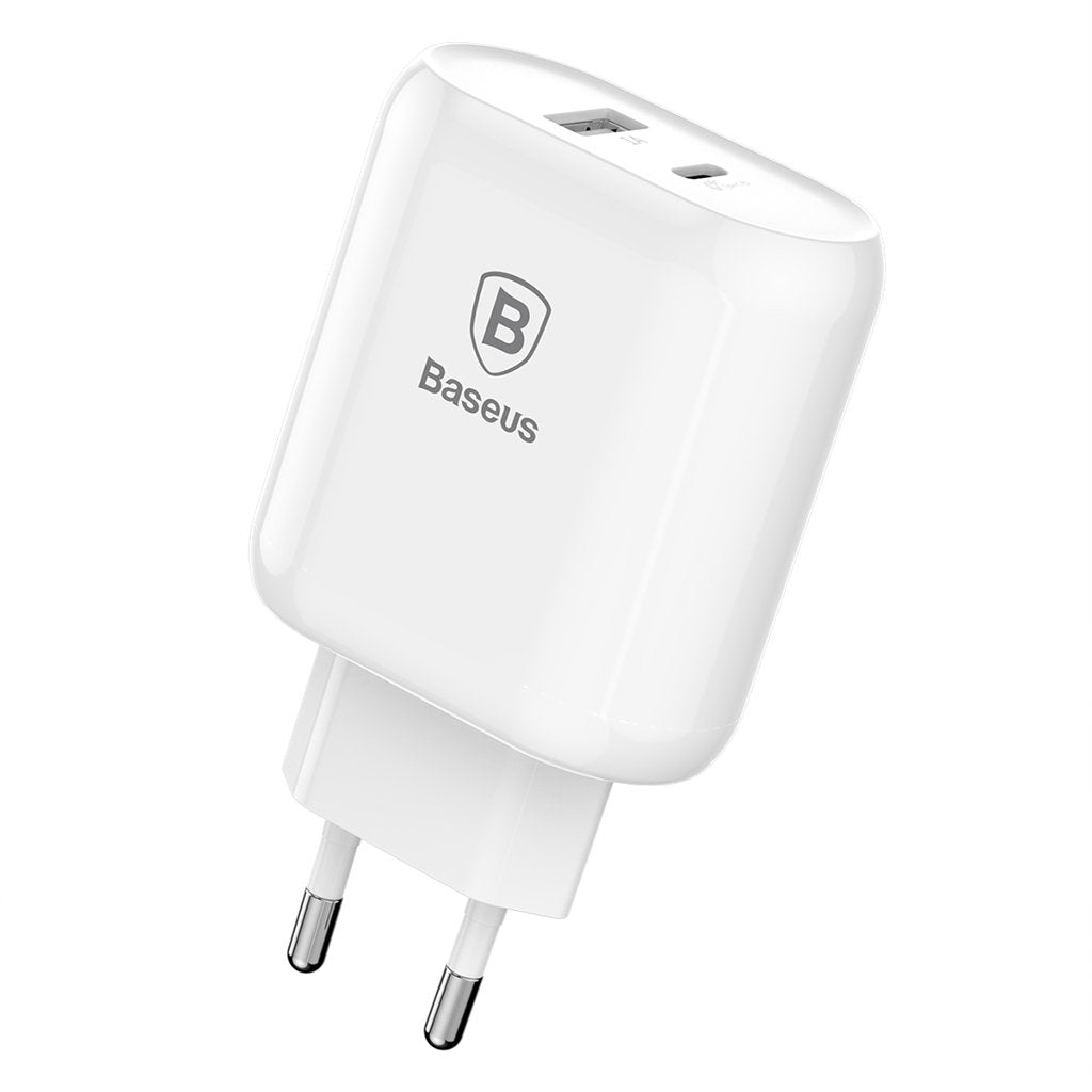 Baseus · Quick Charger · USB-C PD + USB-A