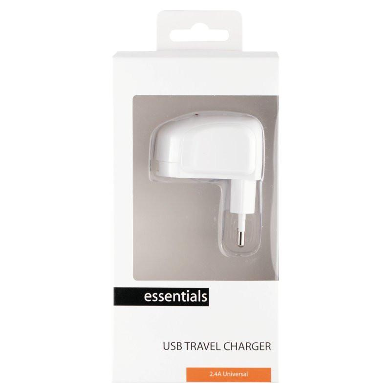 Essentials · USB Travel Charger