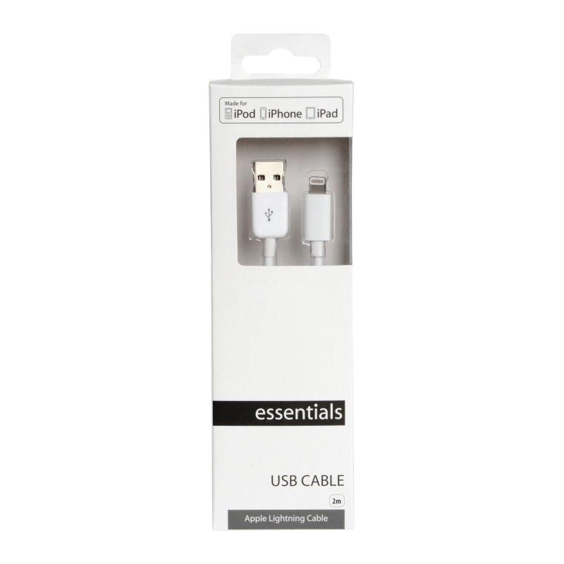 Essentials · Datakabel (MicroUSB, Lightning, 30-PIN)