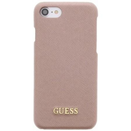 Guess · Saffiano Hard Case · Rose Gold