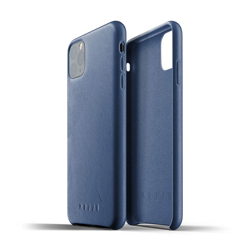 Mujjo · Leather Case · Blue