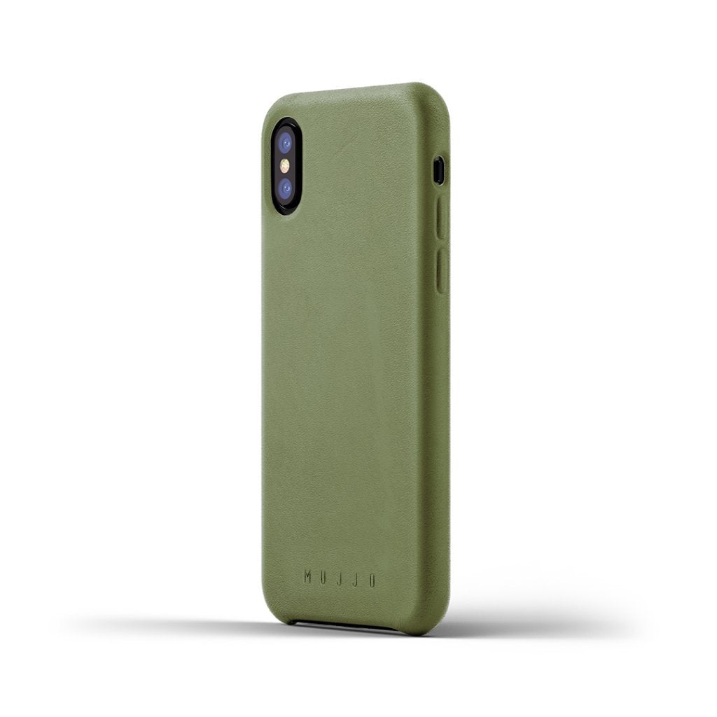 Mujjo · Leather Case · Olive