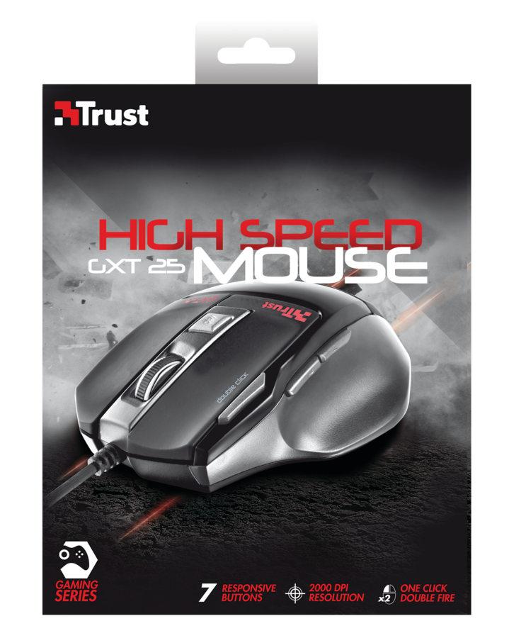 Trust Gaming · Mus (GXT 25) (High Speed)