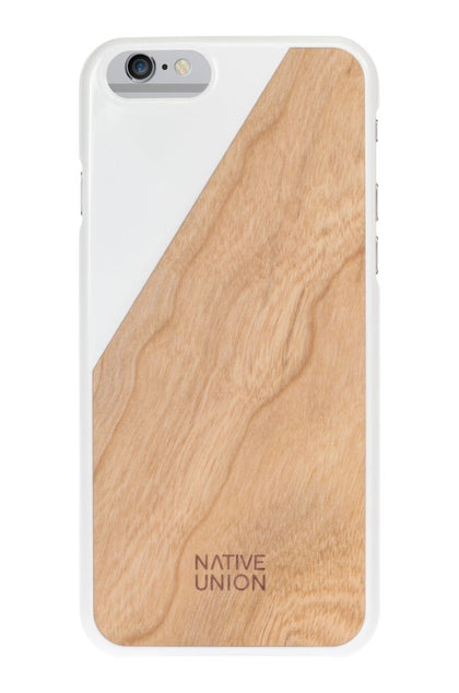 Native Union · CLIC Wooden · White/Cherry