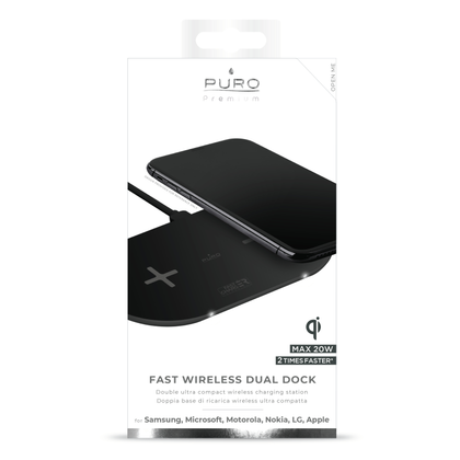 Puro · Dual Wireless Charger