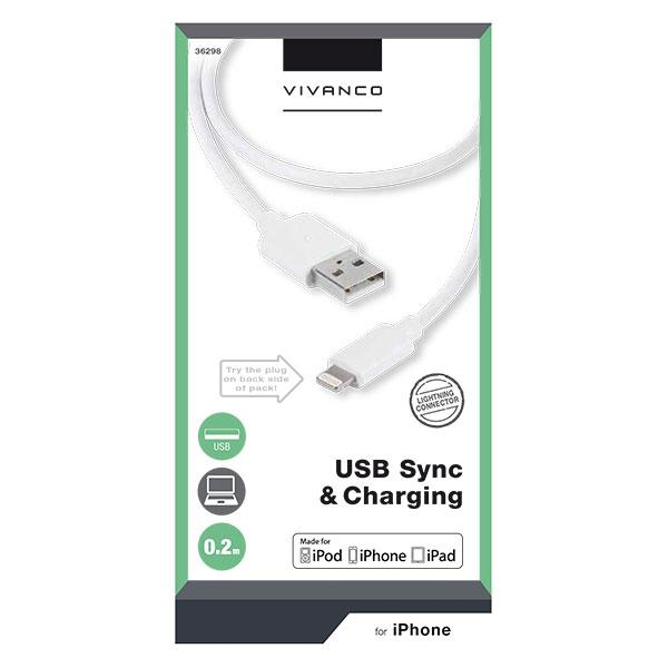 Vivanco · Lightning Kabel (Sync & Charging)