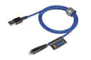Xtorm · Solid Blue Cable · Lightning ↔ USB-A