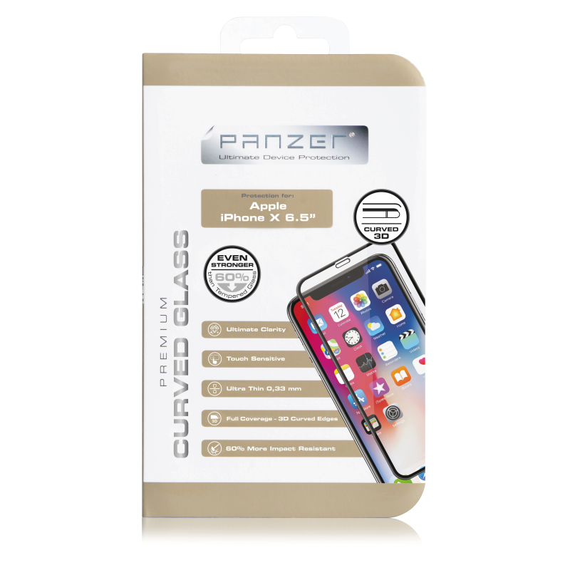 Panzer · Premium Curved Silicate Glass