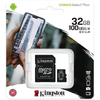 Kingston · Canvas Select Plus microSDHC inkl. adapter · 32GB