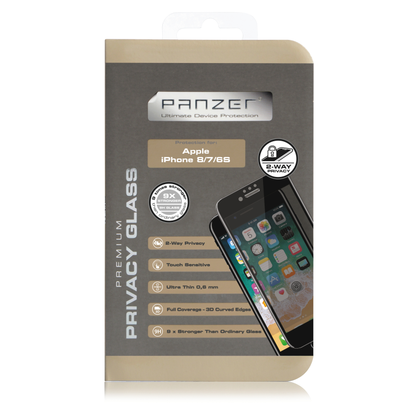 Panzer · Premium Curved Privacy Glass