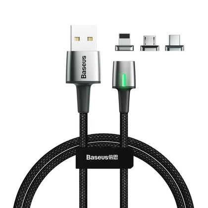 Baseus · Zinc Magnetic 3-in-1 Cable