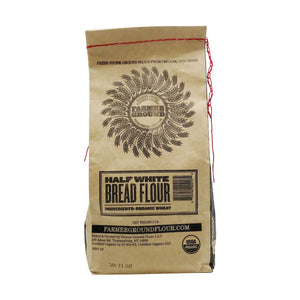 High Extraction (Half-White) Bread Flour - Farmer Ground - 2 lb