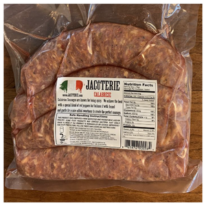 Hot Italian Sausage - Jacuterie - (4 sausages)