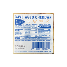 Load image into Gallery viewer, Cave Aged Cheddar - Jasper Hill Farm - 6.5oz