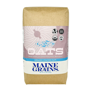 Cracked Oats - Maine Grains - 2.4 lbs