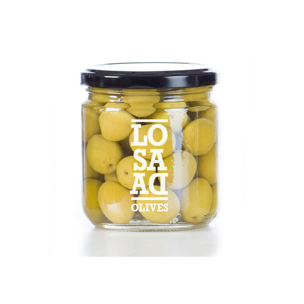 Natural Alorena Olives - Losada - 12oz