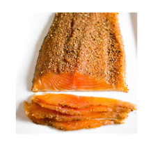Load image into Gallery viewer, Pastrami Cold Smoked Salmon - Catsmo Artisan Smokehouse (Var. sizes)