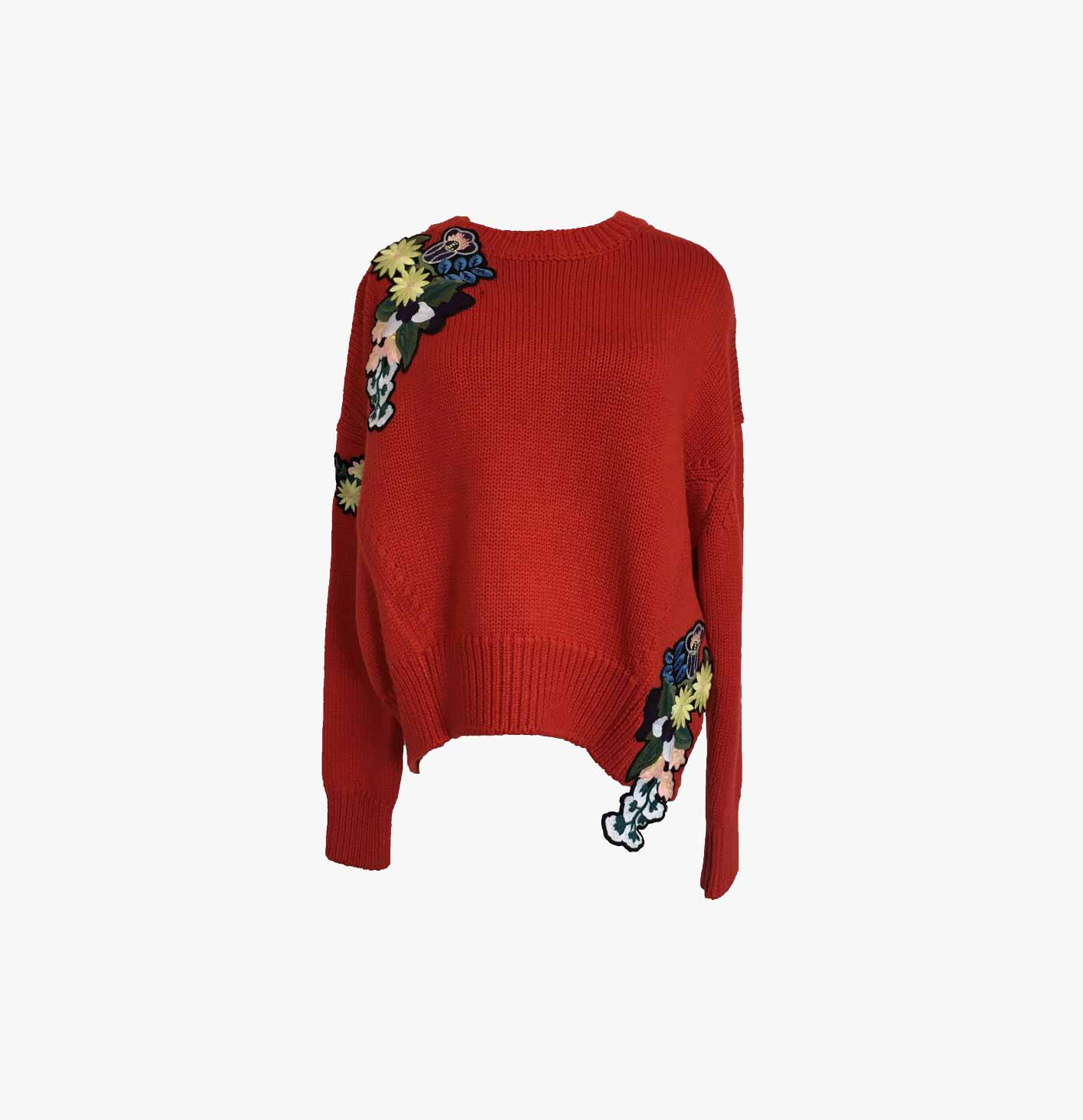 Applique Oversize Pull-over