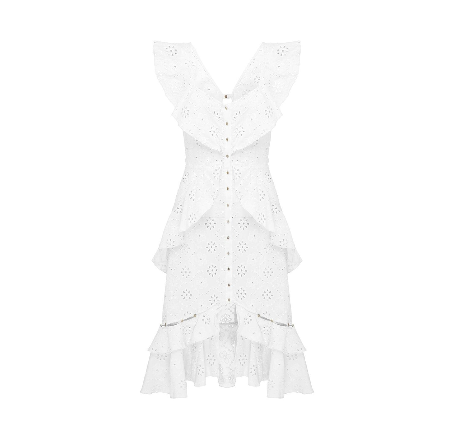CLAIR DE LUNE DRESS PORCELAIN DAISY