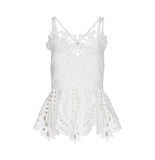 GUIPURE LACE CAMI TOP