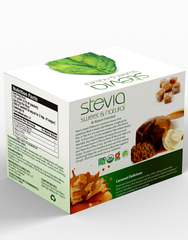 CARAMEL DELICIOSO STEVIA POWDER | LEAF LIQUID STEVIA SWEETENER. ZERO CALORIE | BEST FOR SUGAR SUBSTITUTE HIGHLY CONCENTRATED STEVIA EXTRACT,100% PURE SWEETENER LOW CALORIE FOR DIET