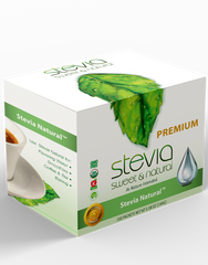 Stevia Intl  Natural  Flavor STEVIA POWDER | LEAF LIQUID STEVIA SWEETENER. ZERO CALORIE | BEST FOR SUGAR SUBSTITUTE HIGHLY CONCENTRATED STEVIA EXTRACT,100% PURE SWEETENER LOW CALORIE FOR DIET