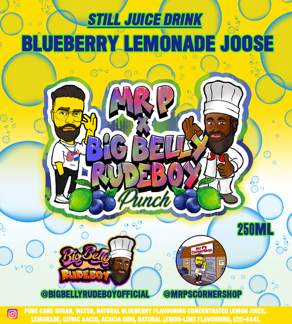 Blueberry Lemonade Joose