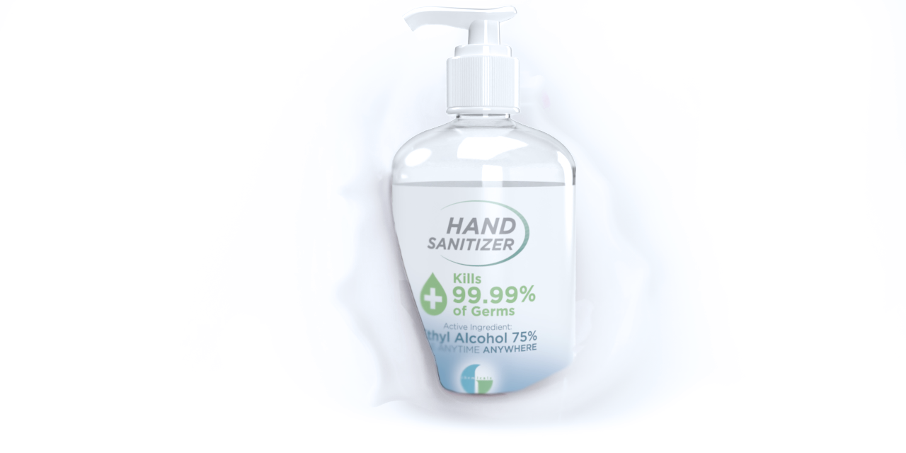 klerzix 16.9 oz hand sanitizer alcohol hand disinfectant