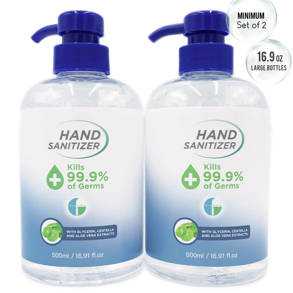 Hand Sanitizer Gel - 16.9 oz Klerzix