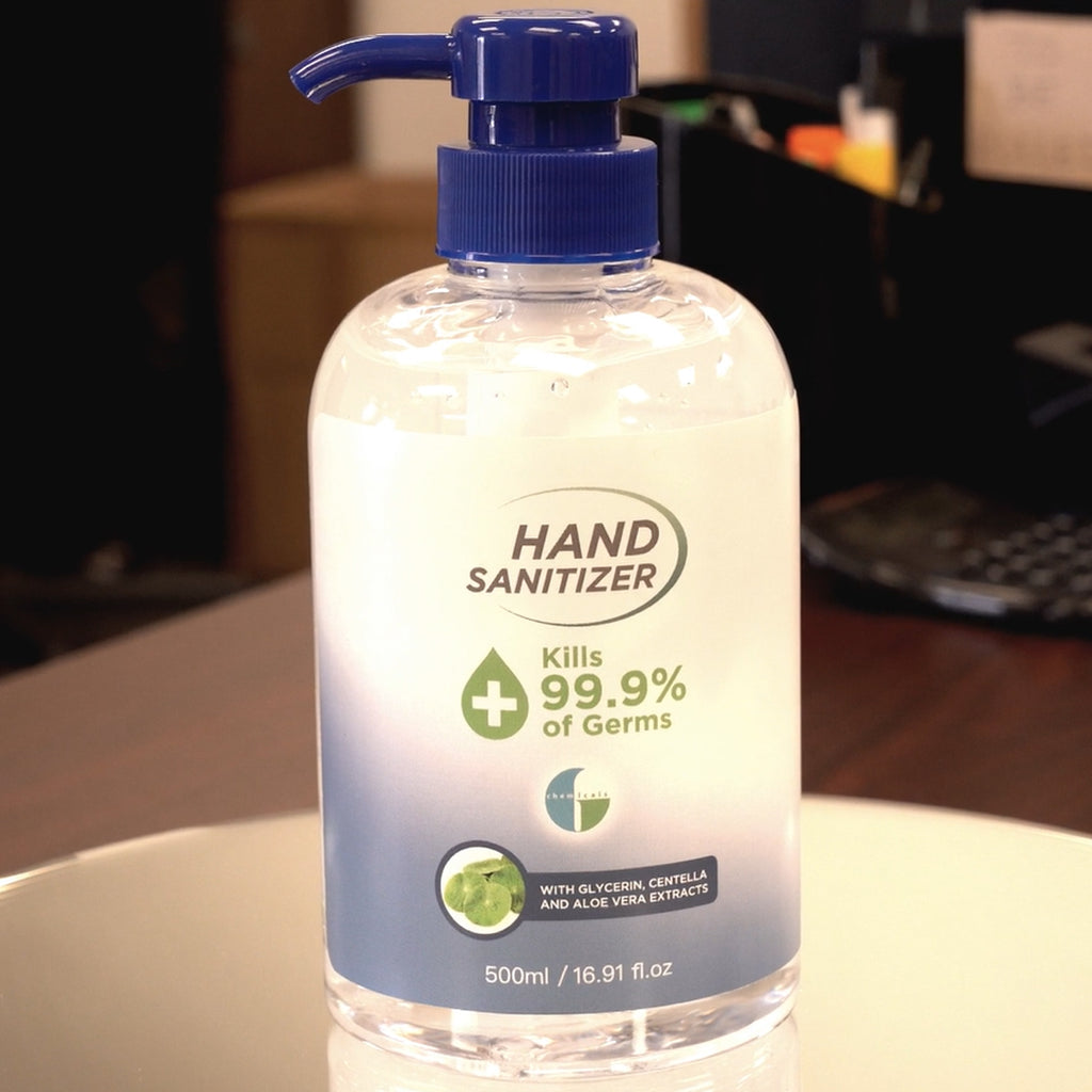 Klerzix alcohol hand sanitizer gel