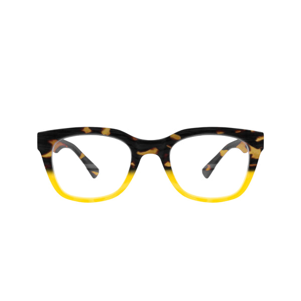 Millie Matte Tortoise Yellow