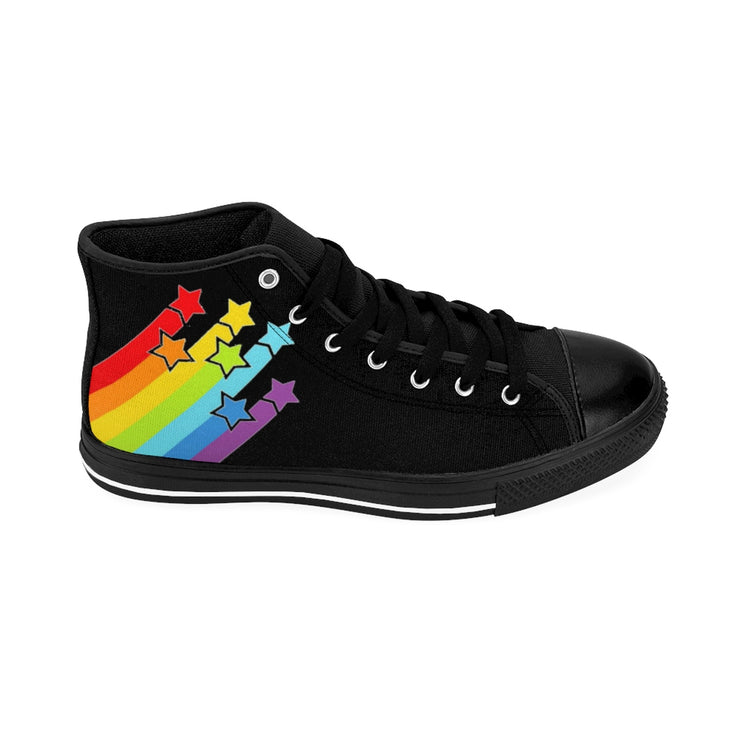Men's Pridey McShoes High-top Sneakers - black