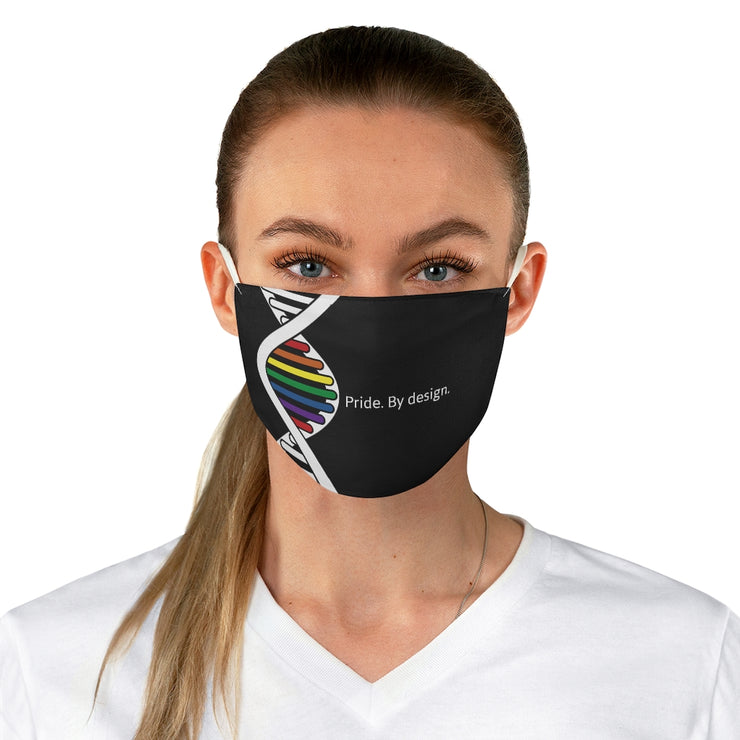 Pride. By Design. Fabric Face Mask