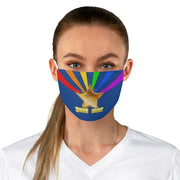 Gold Star Fabric Face Mask