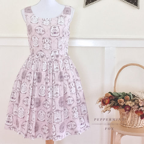 SALE Tea Emblem Milk Tea Signature Dress