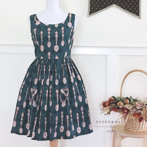 Tea Society Camellia Green Signature Dress