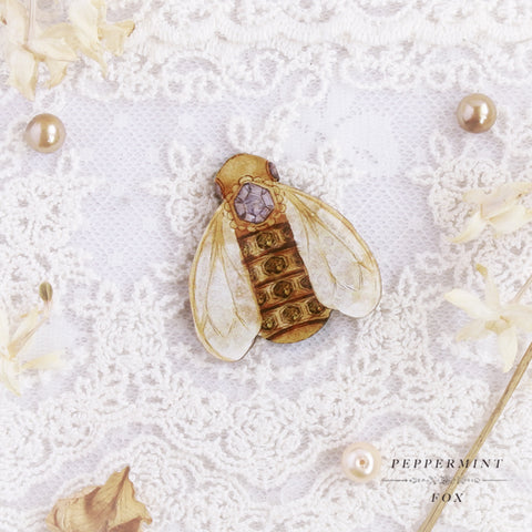 Royal Bee Brooch
