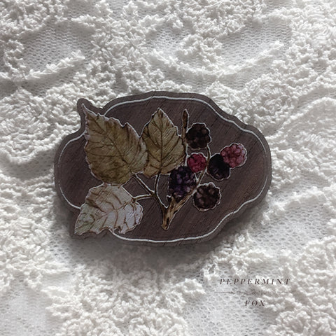 Bramble Brooch